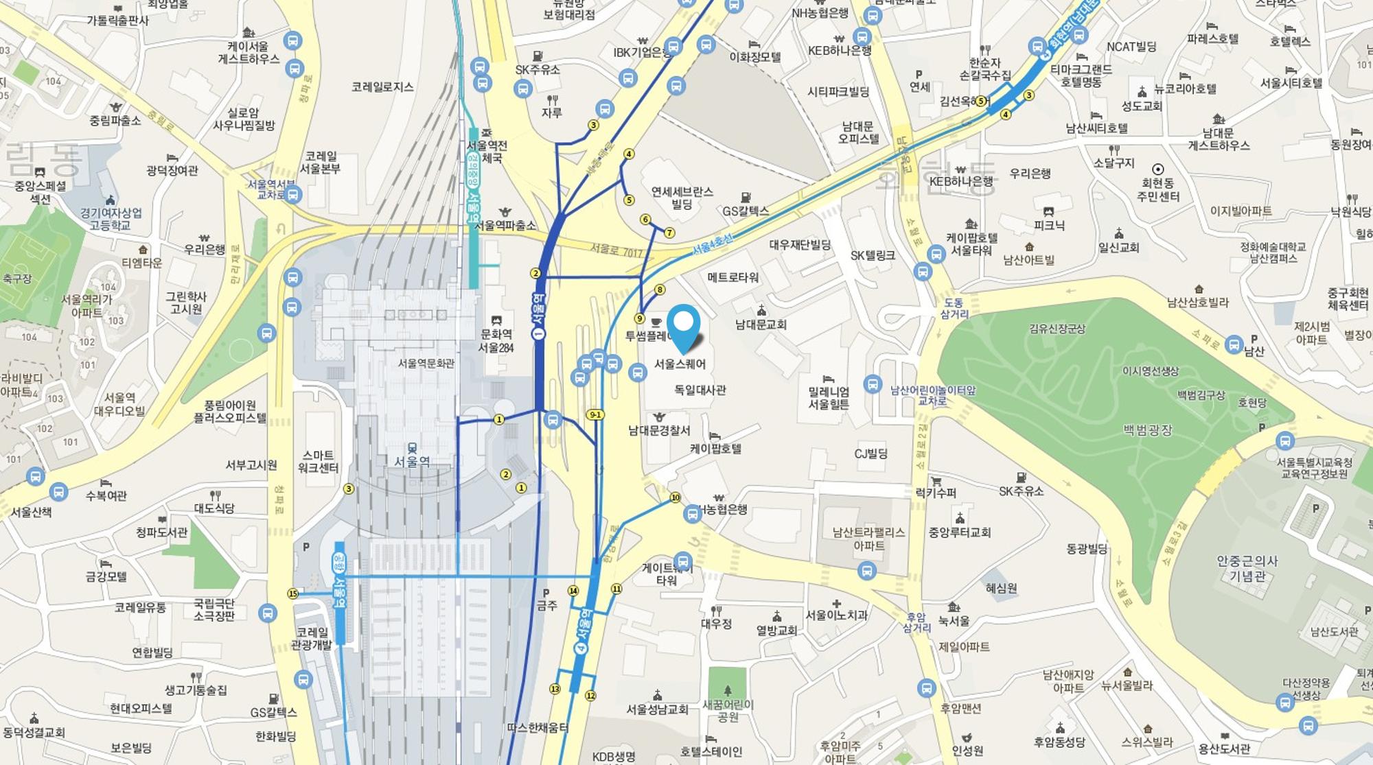 서울역wework위치